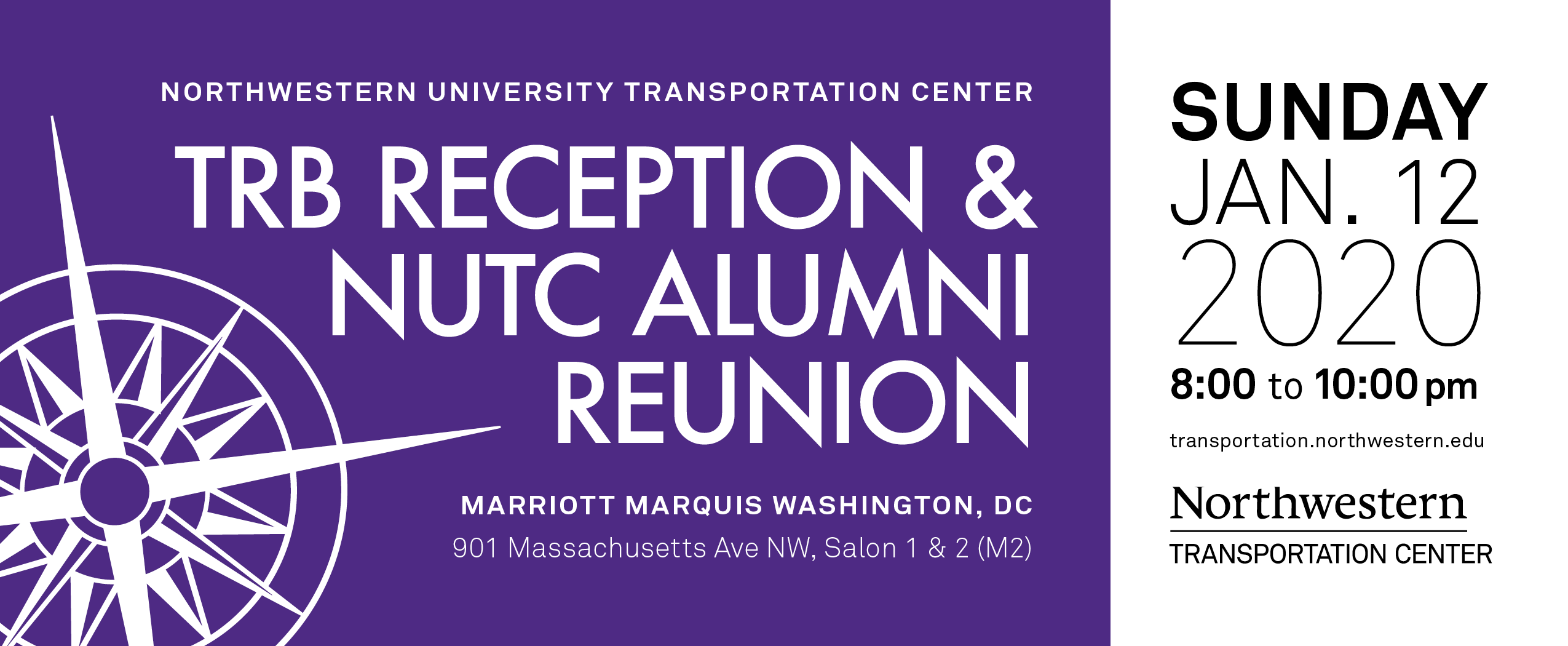 TRB Reception & NUTC Alumni Reunion