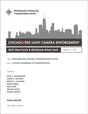 Chicago Red Light Camera Enforcement: Northwestern University